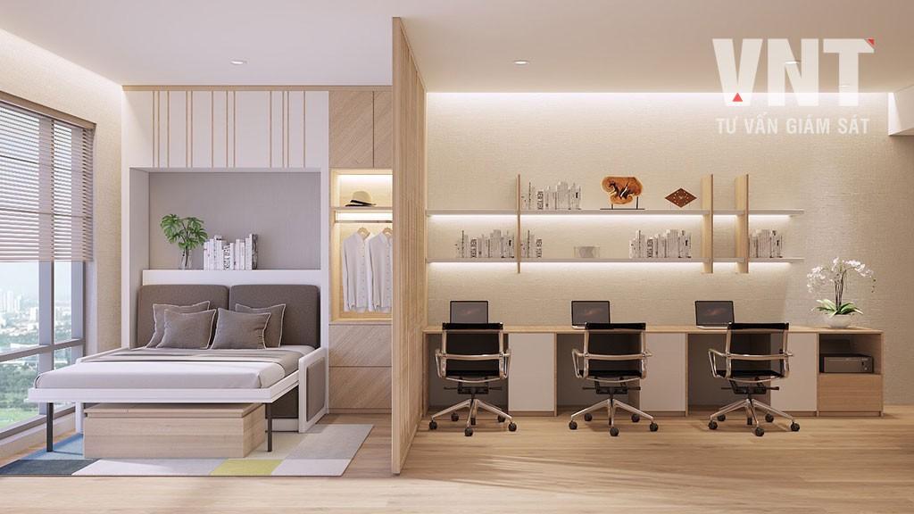 TCVN 12871:2020 - Văn phòng kết hợp lưu trú - Officetel - Yêu cầu chung về thiết kế