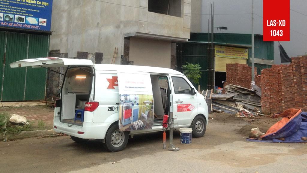 Kiểm định chất lượng bê tông Móng nhà ở gia đình tại Dương Nội, Hà Đông, Hà Nội