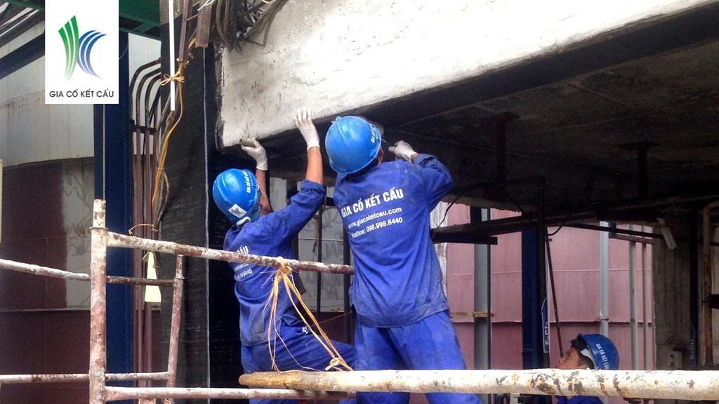 Những ưu điểm vượt trội của vật liệu sợi carbon fiber trong việc gia cố kết cấu