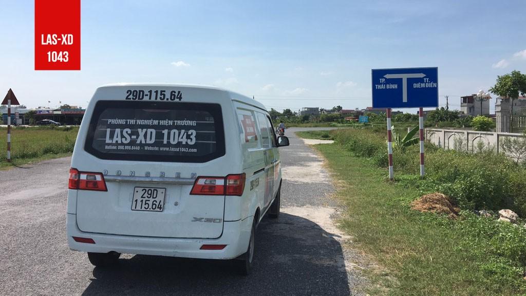 Thí nghiệm kiểm định chất lượng bê tông sàn mái Nhà ở gia đình tại Xã Thái Hà, Huyện Thái Thụy, Thái Bình