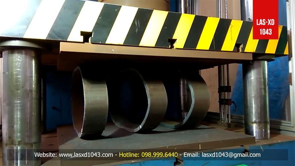 TCVN 1830:2008 - Vật liệu kim loại - Ống - Thử nén bẹp