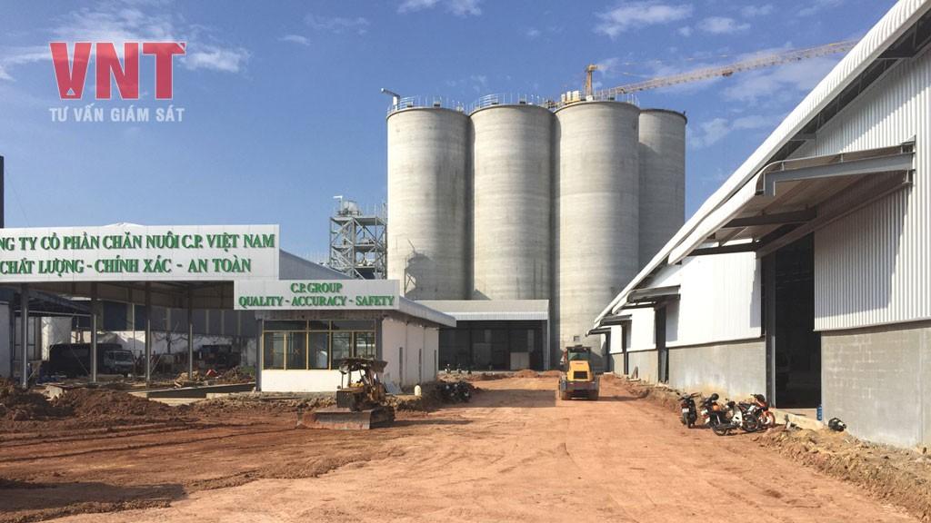 Nhà máy sản xuất thức ăn chăn nuôi C.P Bàu Xéo (giai đoạn 2)