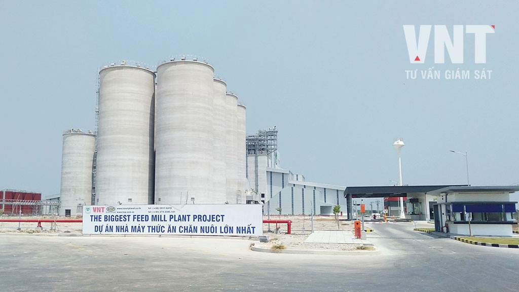 Nhà máy sản xuất thức ăn chăn nuôi CPV Food Bình Phước