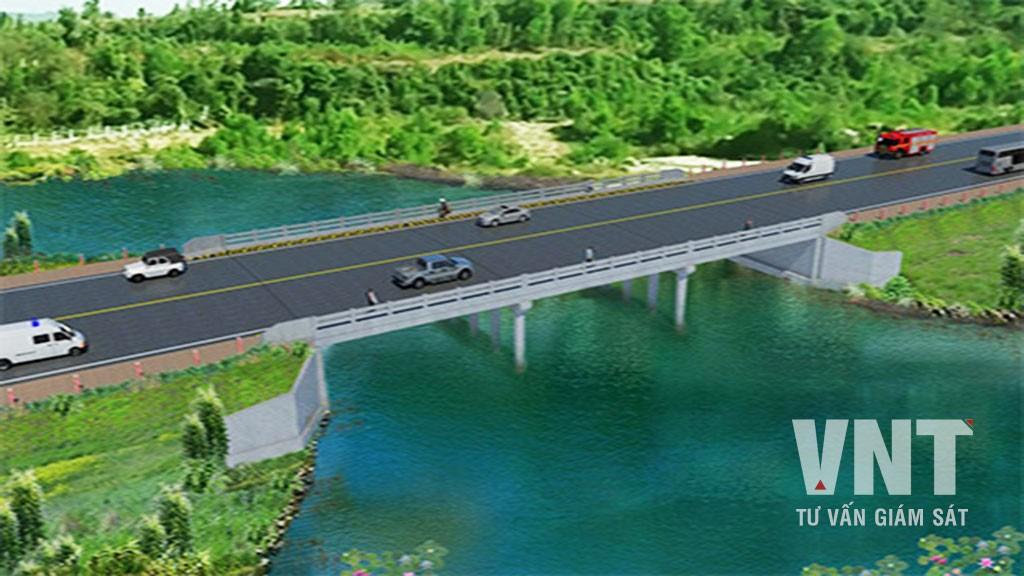 Cầu N1, N2, N3, N4 đường cao tốc Shihanouk Ville - Vương quốc Campuchia