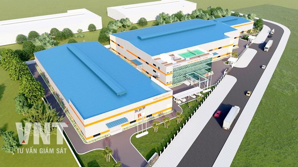 Tổ hợp nhà máy Anpha Việt Hà Nam và nhà máy Thiên Ân MB