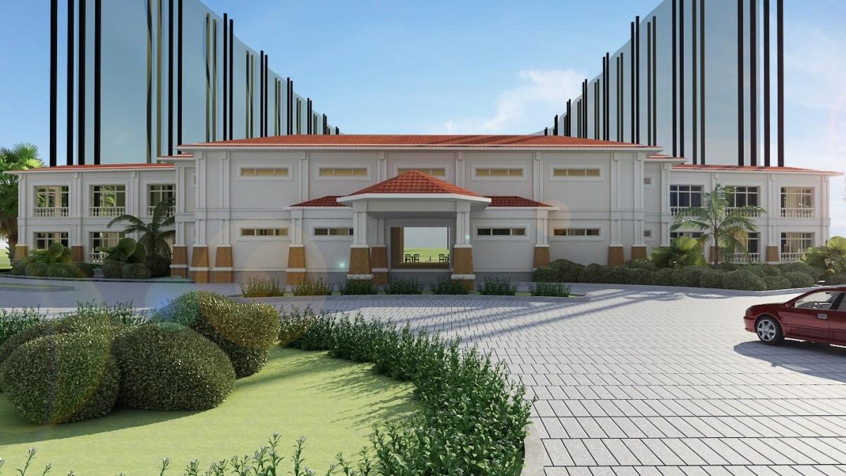 Nhà tập sân golf Tân Sơn Nhất