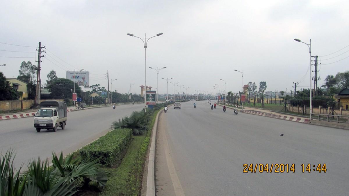 Chỉnh trang cảnh quan đường dẫn Cầu Vĩnh Tuy