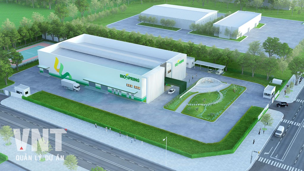 Nhà máy sản xuất, ứng dụng các sản phẩm sinh học thế hệ mới - Biospring